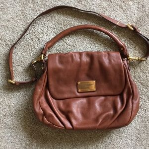 Marc Jacobs Classic Q Ukita Cognac Leather